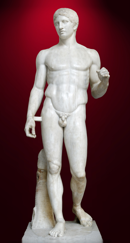Doryphoros man napoli inv6011 2