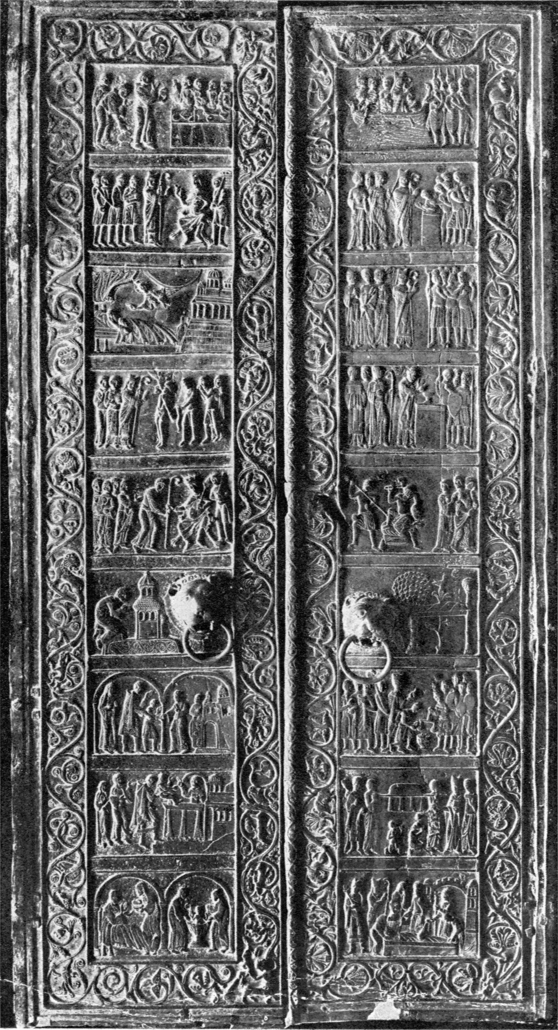 Gniezno cathedral door