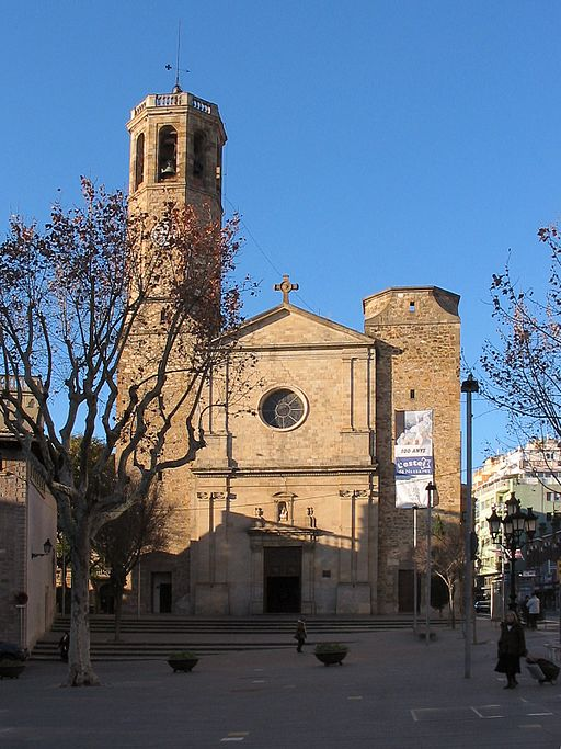 Barcelona church of santvicenc de sarria1