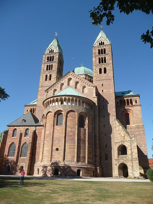East front of speyer cathedral 01