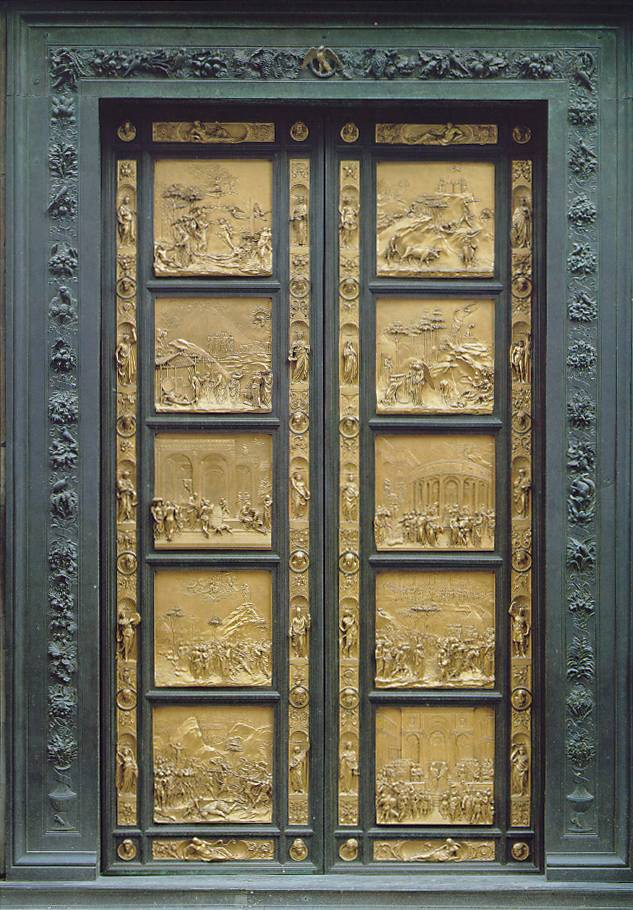 Ghiberti  florence baptistery  east door