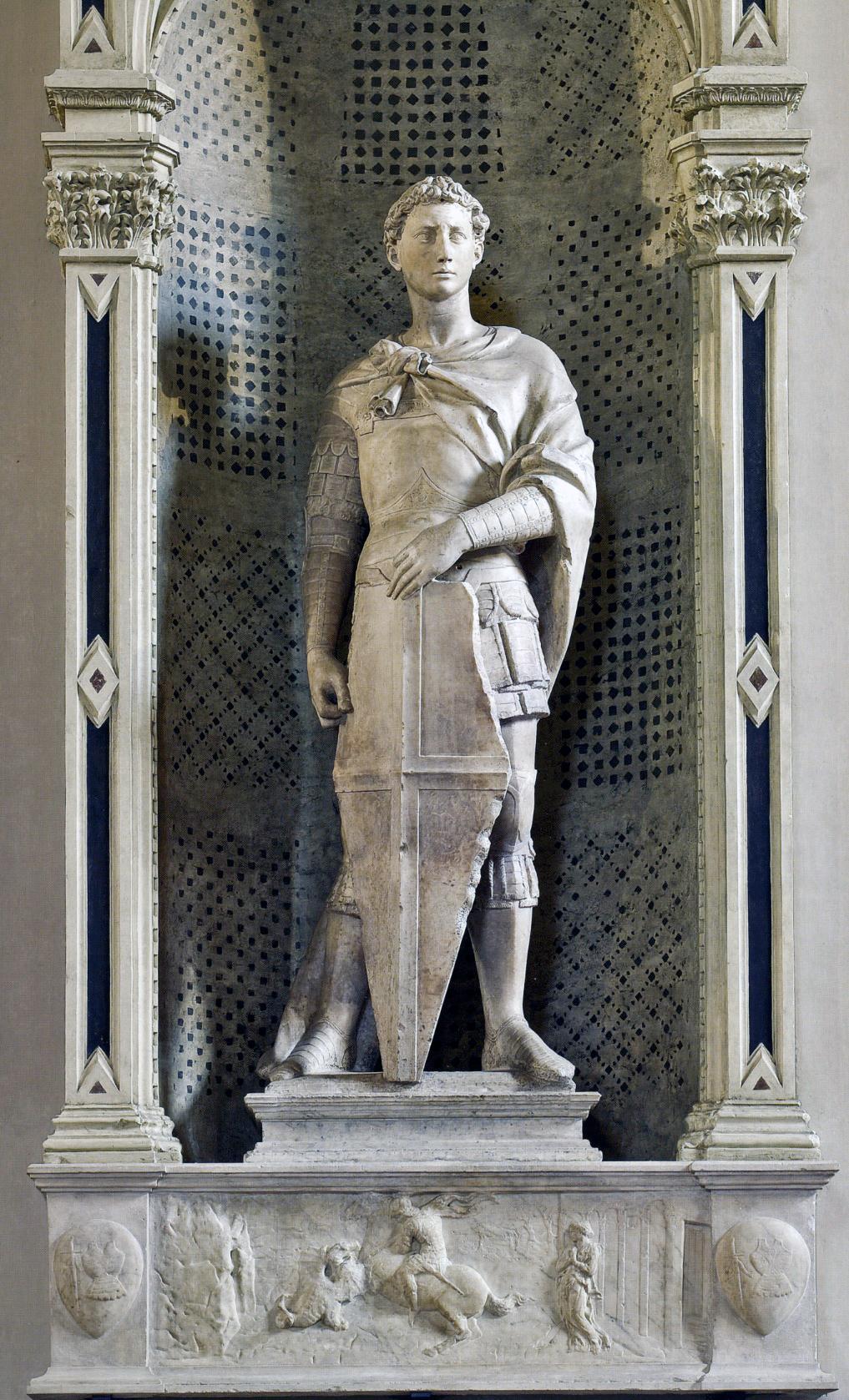 Donatello st george 1415 museo nazionale del bargello florence
