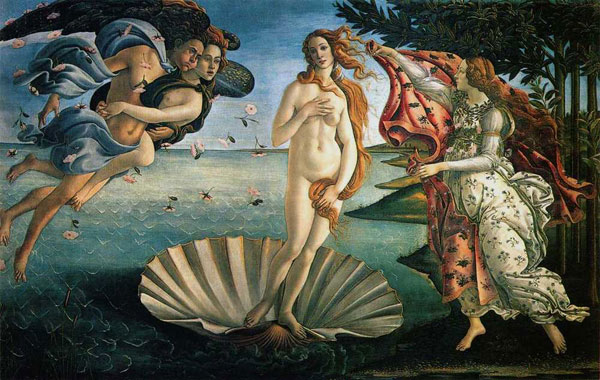 Botticelli birth venus