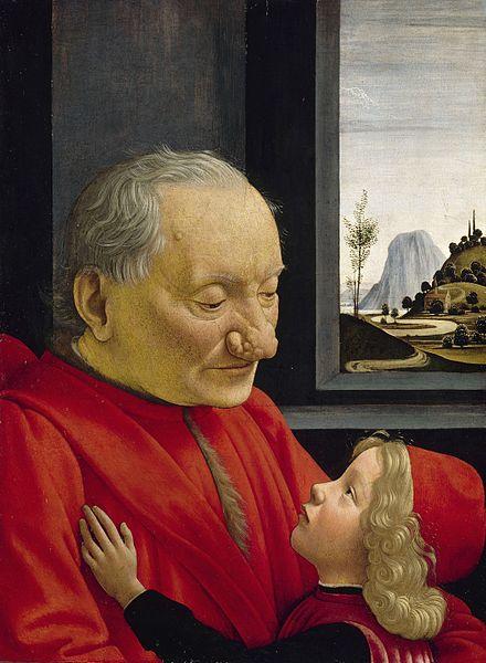 440px domenico ghirlandaio  ritratto di nonno con nipote