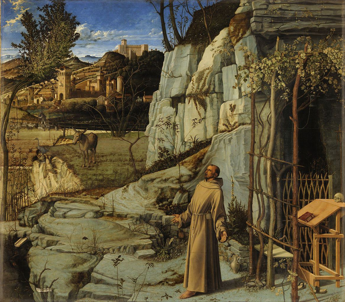 1167px giovanni bellini   saint francis in the desert   google art project