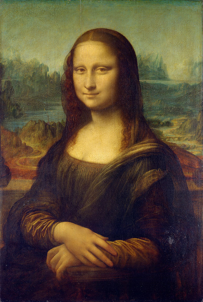 Mona lisa  by leonardo da vinci  from c2rmf retouched