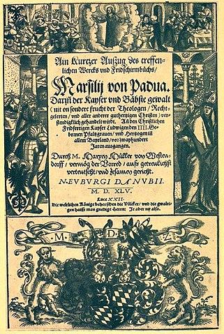 321px marsilius  defensor pacis  neuburg 1545