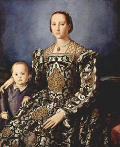 Eleonora of toledo with her son giovanni de medici 300px