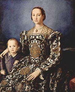 Eleonora of toledo with her son giovanni de medici 300px