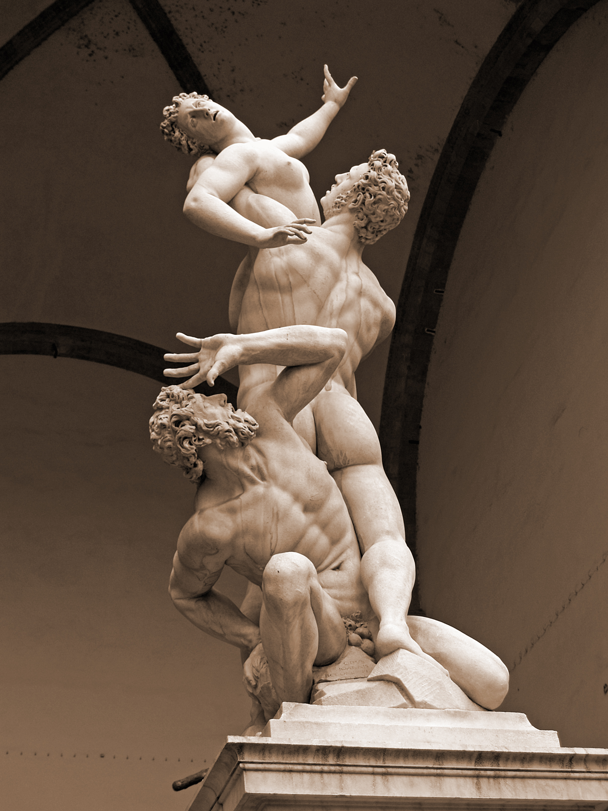 Florence rape of the sabine women 1