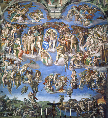 436px last judgement  michelangelo