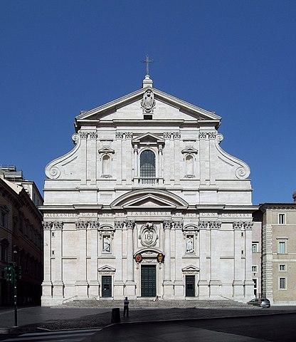 416px church of the gesu   rome