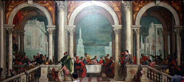 640px banquet in the house of levi by paolo veronese   accademia   venice 2016  2