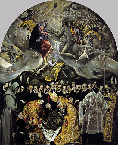 392px el greco   the burial of the count of orgaz