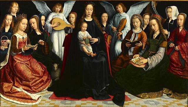 640px david virgin among the virgins
