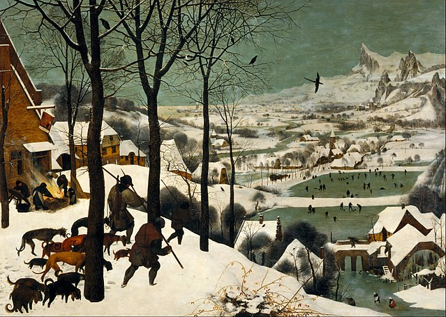 640px pieter bruegel the elder   hunters in the snow  winter    google art project