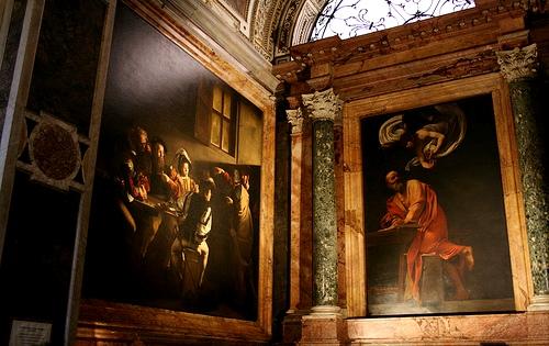Chiesa di san luigi dei francesi  cappella contarelli
