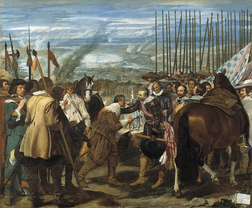 873px velazquez the surrender of breda