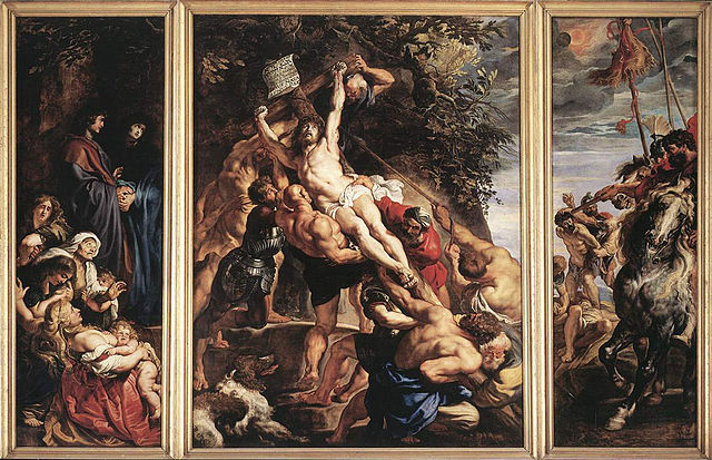 640px rubens   the raising of the cross
