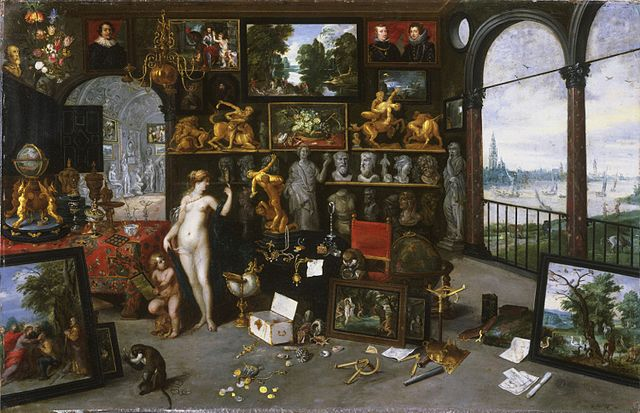 640px jan breughel ii   allegory of sight   gallery painting cat656