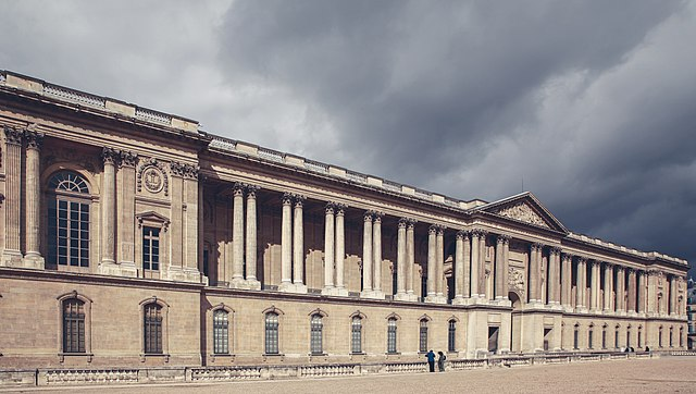 640px east facade of louvre  paris september 2013