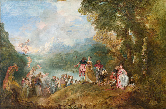 640px l embarquement pour cythere  by antoine watteau  from c2rmf retouched