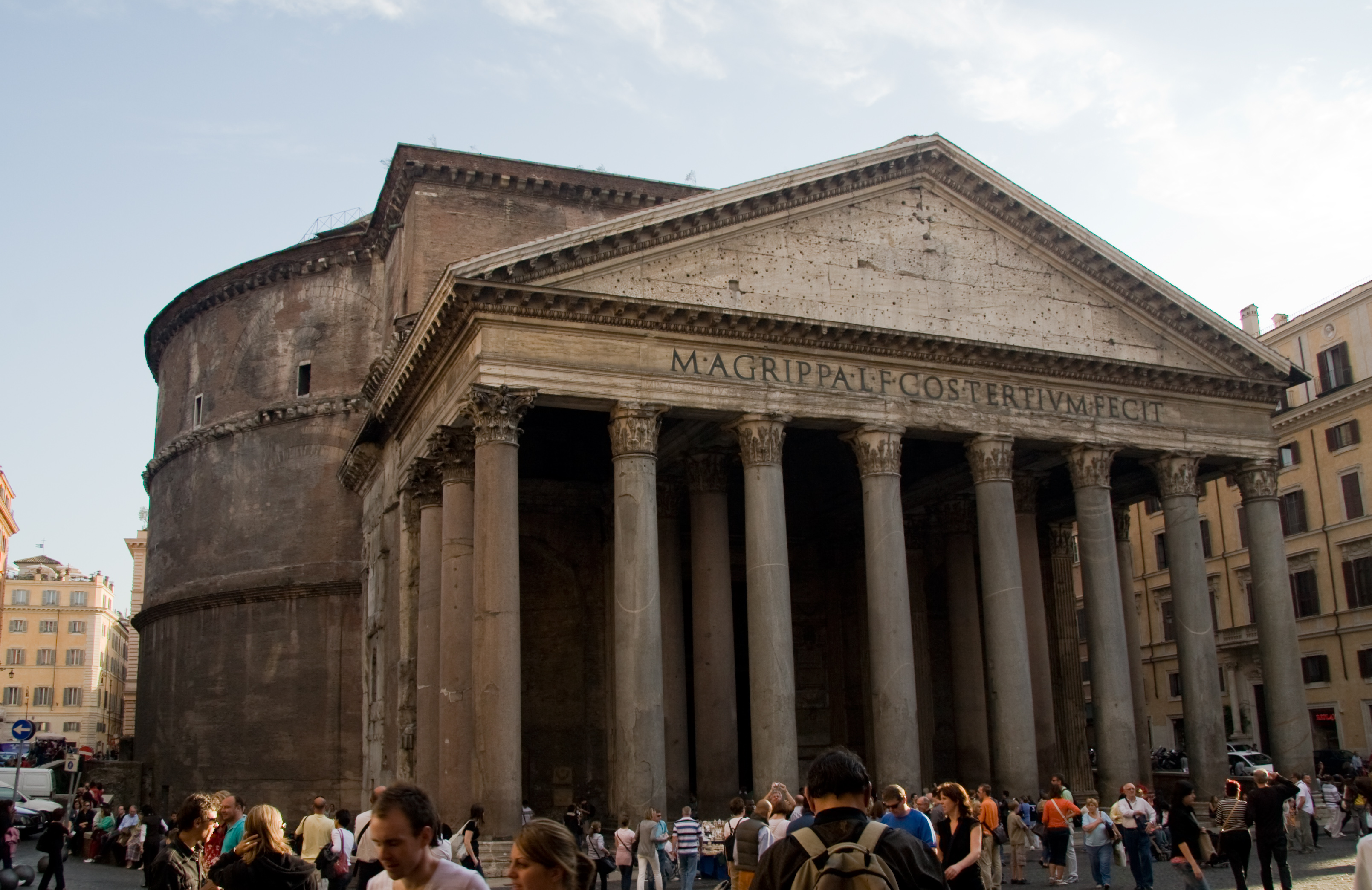 Pantheon panorama  rome   5