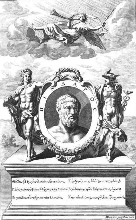 Pindar frontispiece west welsted